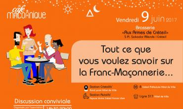 Georges TroisPoints : Premier café maçonnique à Créteil