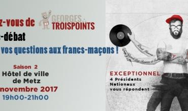 Georges Troispoints : grande conférence le 2 novembre 2017 à Metz