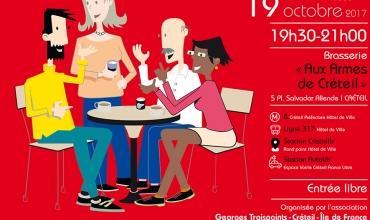 Café maçonnique à Créteil - 19 octobre 2017